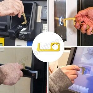 Contactless Key Door Opener Safe No Touch Sanitize
